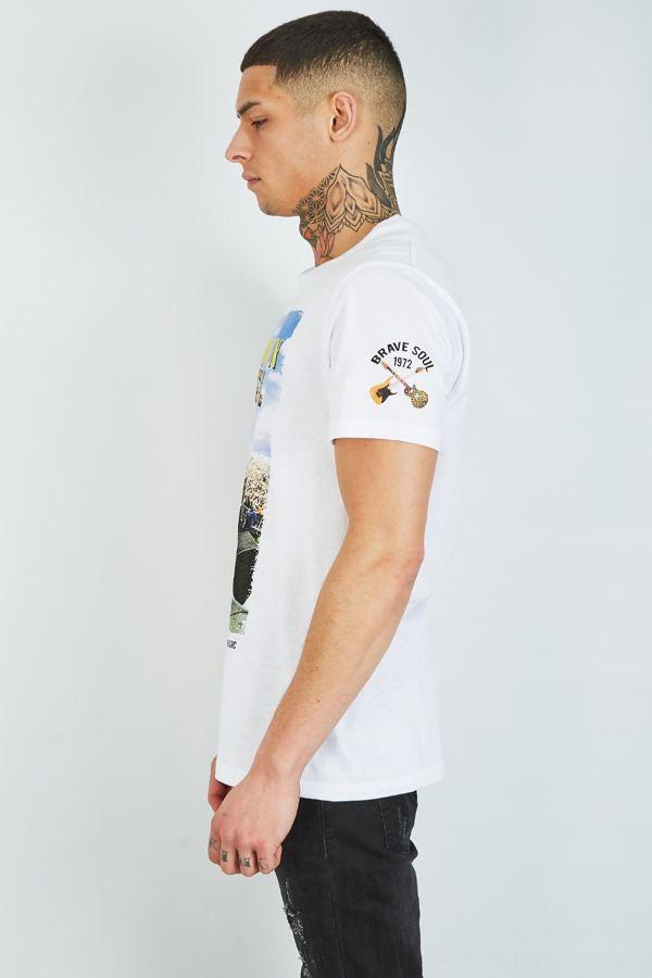 White Concert Roaring T-Shirt