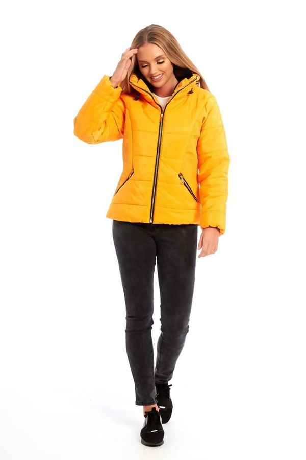 White High Neck Padded Puffer Quilted Jacket