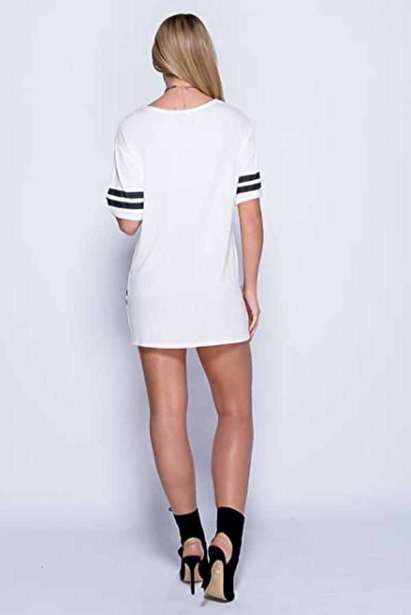 White New York 98 Brooklyn Oversized Dress