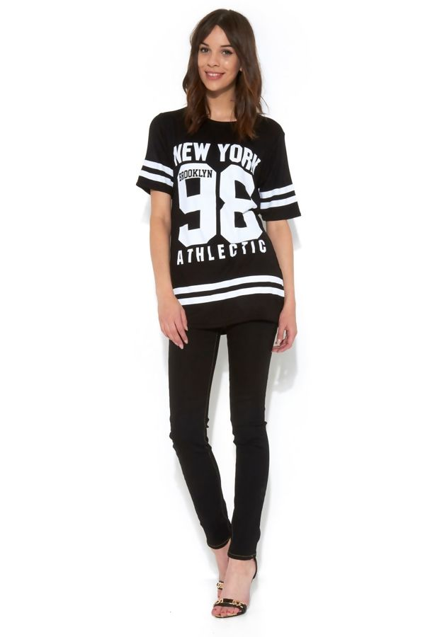 White New York 98 Oversize T-Shirt