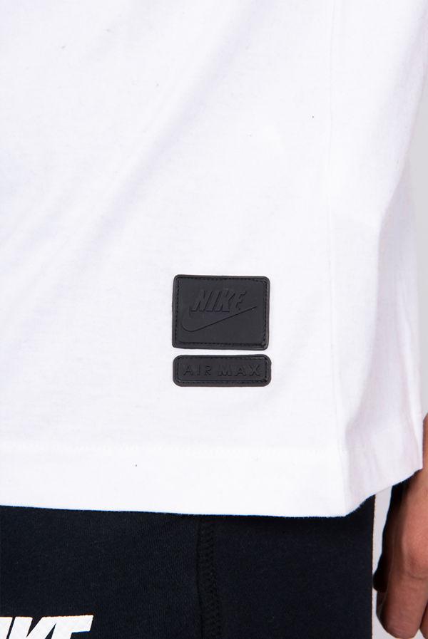 White Nike NSW Air Max T-Shirt