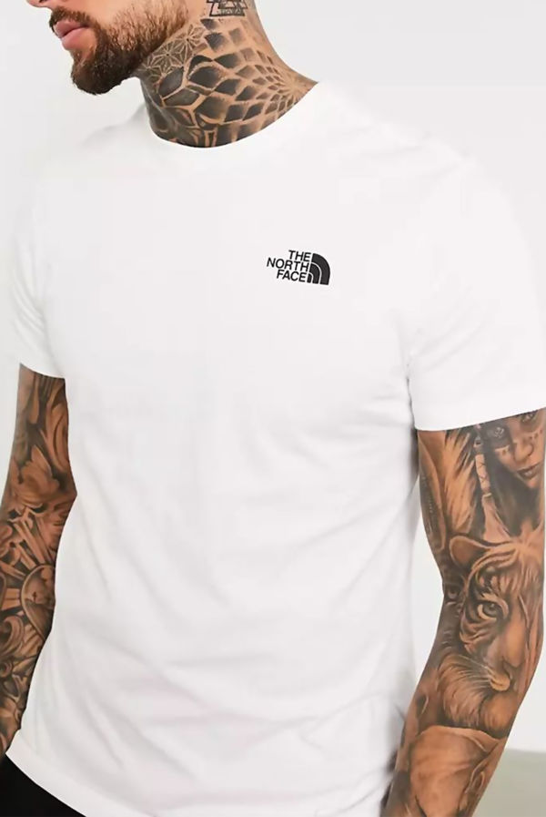 White The North Face® Peaks Tee
