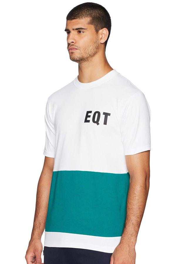 White Adidas EQT Graphic Tee