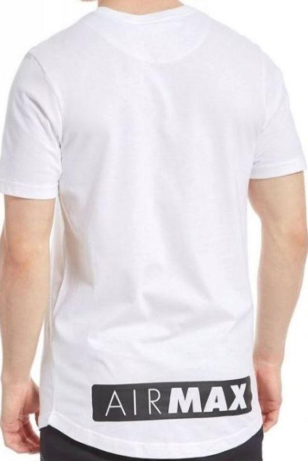 White Nike Air Max T-Shirt