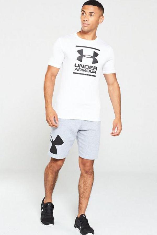 White Under Armour GL Foundation Short Sleeve T-Shirt