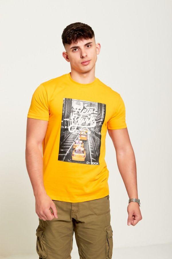 Yellow New York City T-Shirt