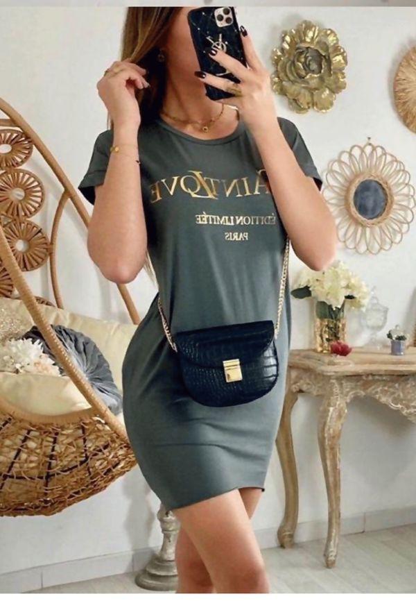 Yves Saint Love Tee Dress Pre-order