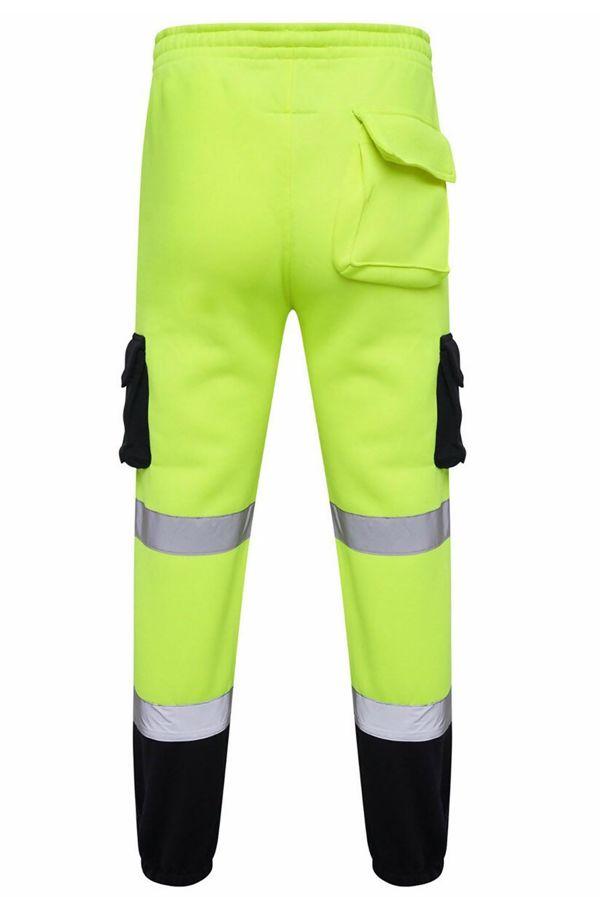 Yellow Hi Vis Fleece Trouser