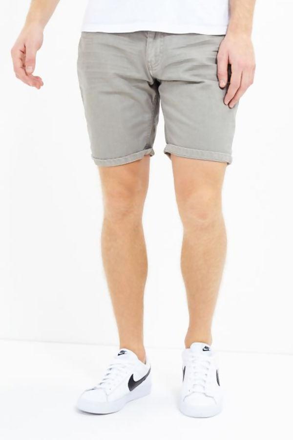 Grey Classic Chino Short