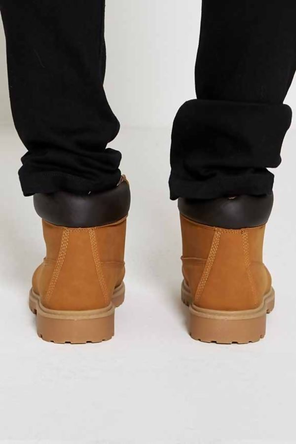 Camel Suede Effect Boots