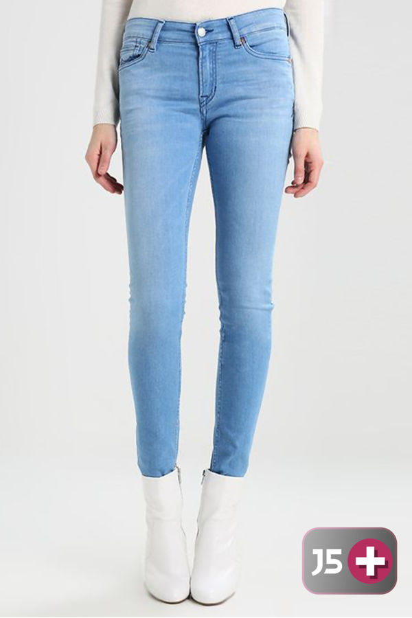 Plus Size Light Blue Denim Jeans
