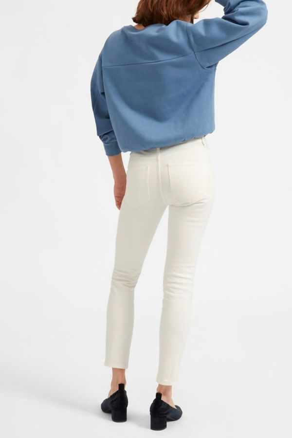 Plus Size White Stretch Slim Fit Skinny Jegging