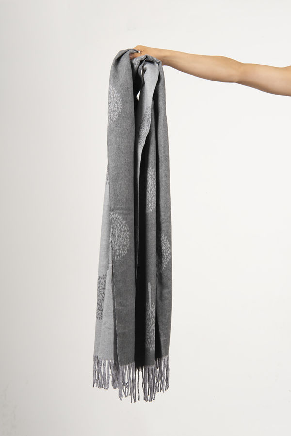 Mulberry Tree Print Blanket Scarf