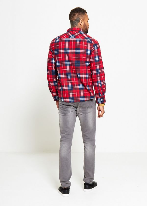 Red Tartan Plaid Check