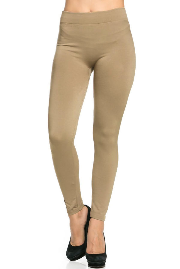 Mocha Fleece Leggings