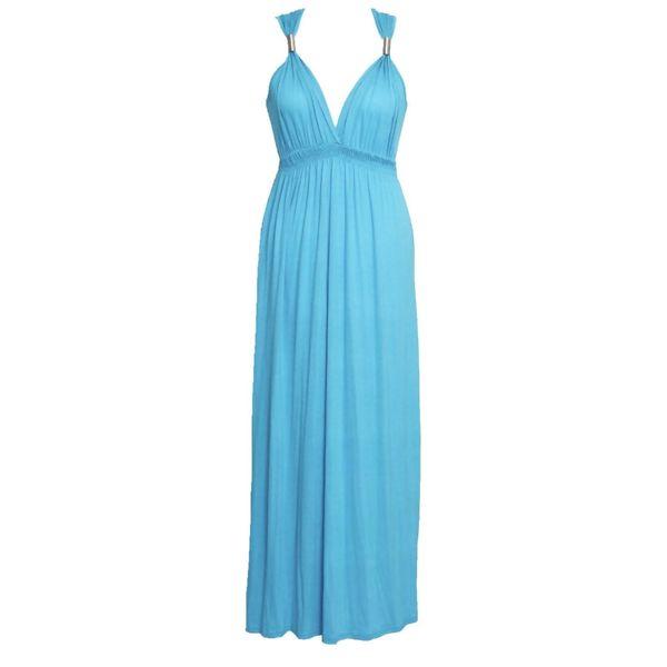 Coil Spring Maxi Dress