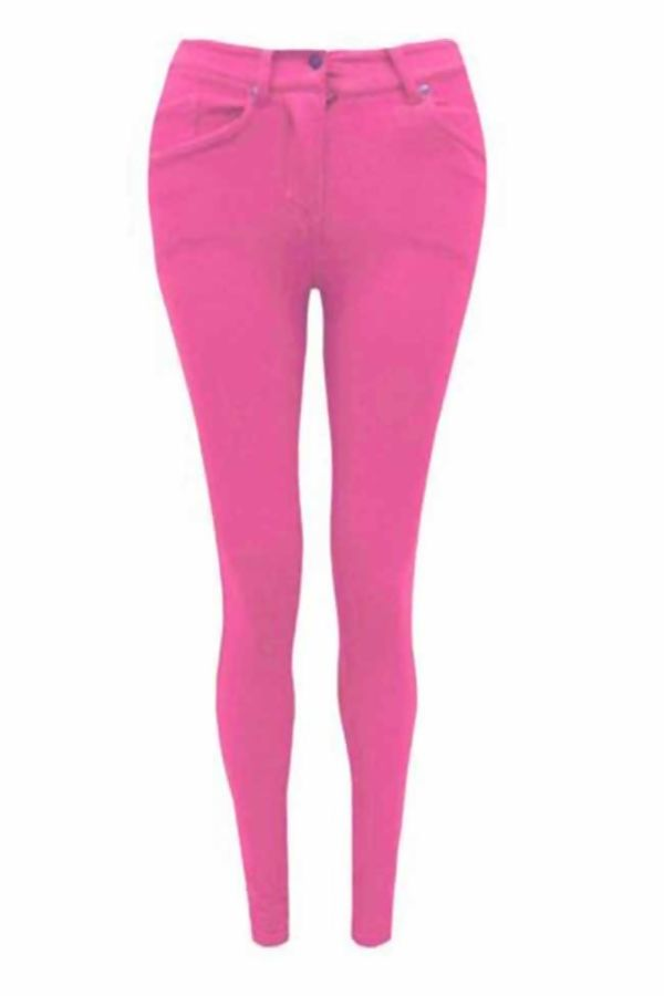 Plus Size Royal Skinny Fit Coloured Stretchable Jegging Jeans