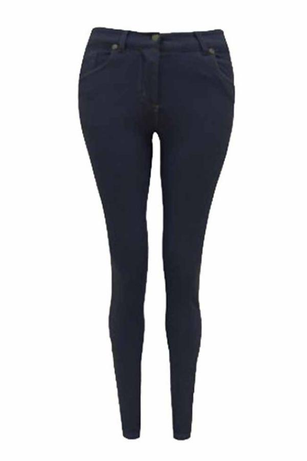Plus Size Red Skinny Fit Coloured Stretchable Jegging Jeans
